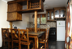 6 Sleeper Log Cabin (dam vacinity)