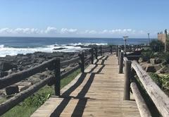 Walkway along beach