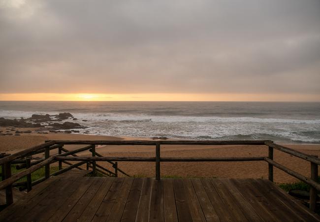 Beach viewing deck