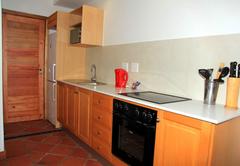 Family room kitchen