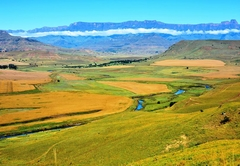 Views of the Tugela river