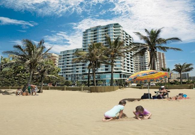 Bay of Plenty Beach in Durban Beachfront, KwaZulu Natal