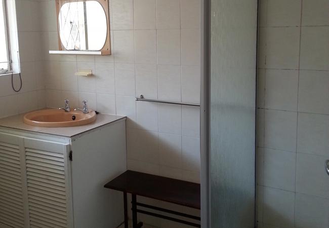 Double unit bathroom