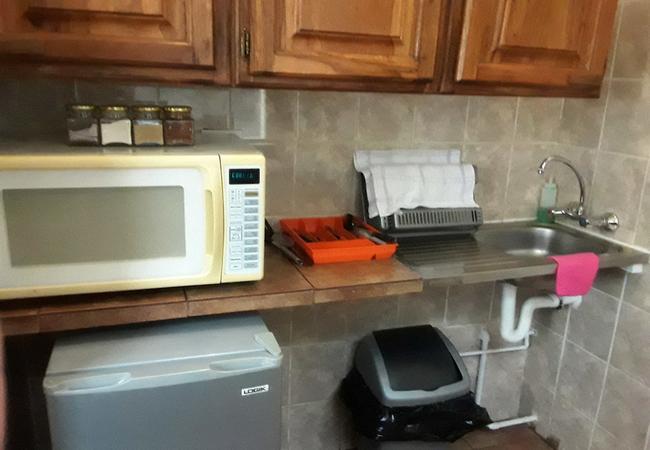Family unit kitchenette