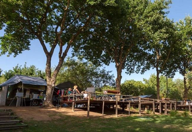 Upper Level Camp Sites