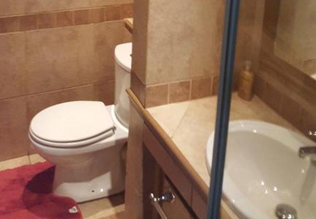 Room 3 Basin & Toilet