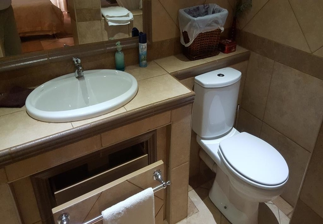 Room 4 Basin & Toilet