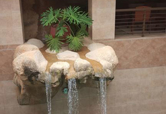 Indoor Pool Waterfall