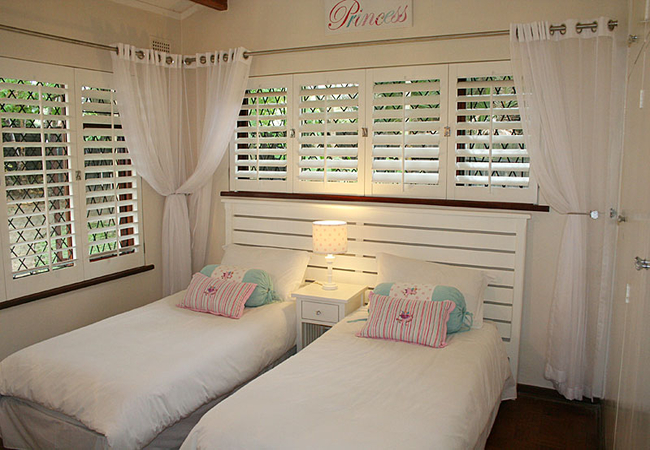 Option of single beds