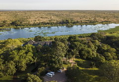 Aerial view of Buhala Lodge