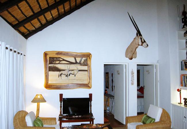 Bedroom in Bush lodge