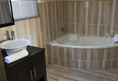 Queen Room with Bath and Shower