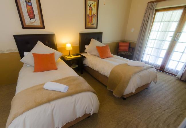 Twin-bedded En-suite Garden Rooms