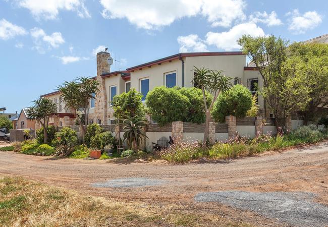 front of cape point villa