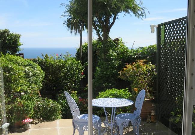 Deluxe Garden Studio with a Sea View
