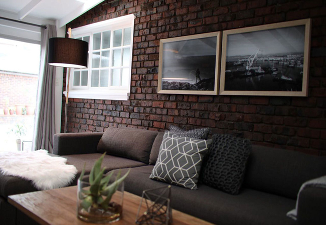 Apartment living area