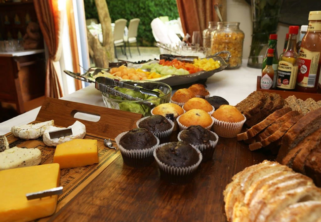 Breakfast at Centre-Ville Guest House