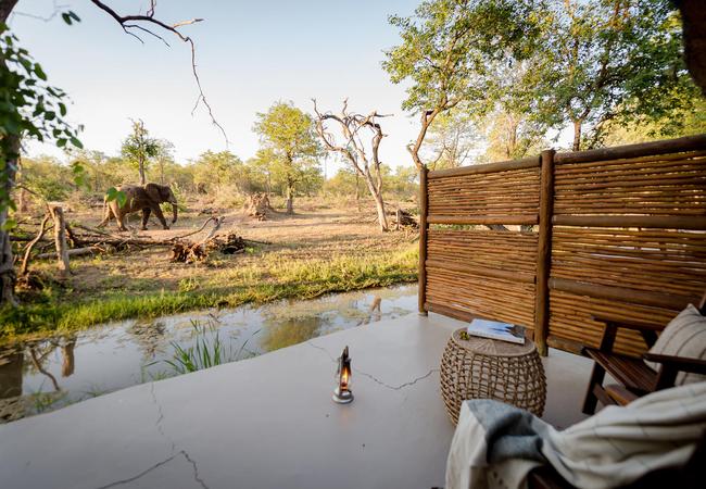 Steenbok Chalet View