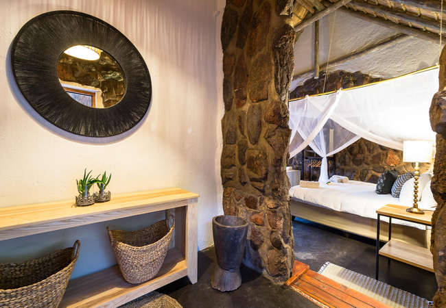 Steenbok Chalet Entrance