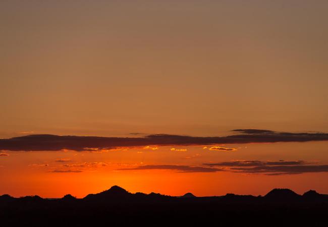 Sunset Over Maseke Game Reserve