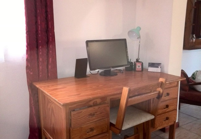 Personal office area