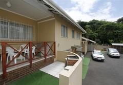 The Apartment patio