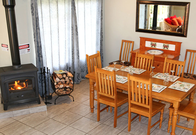 Guest holding trout