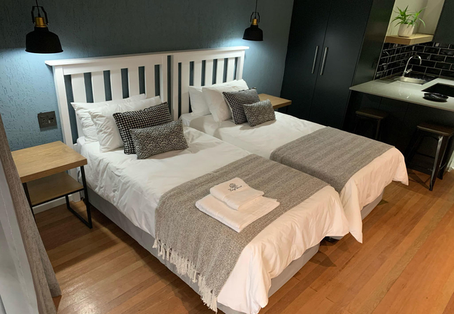 Twin Bed Self Catering Suite