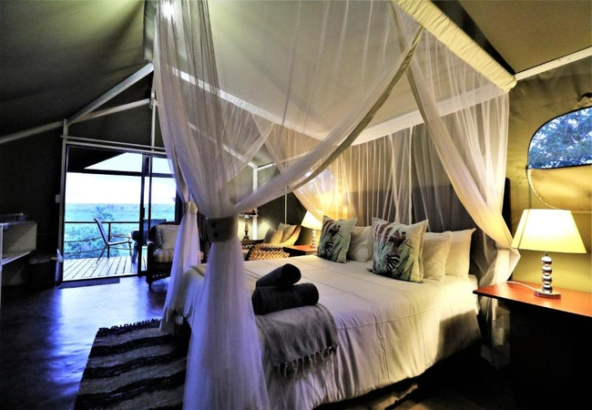 Luxury Tent with Deck
