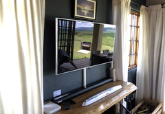 HD TV with Sound Bar