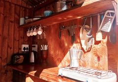 Campsite Cabin El Corazon