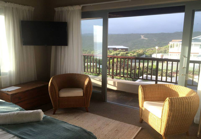 Double/Twin Room with views inland