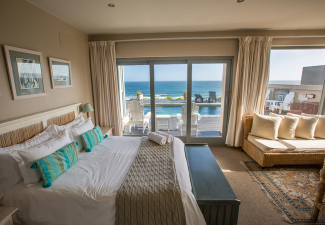 Double Room with Sea and Pool View