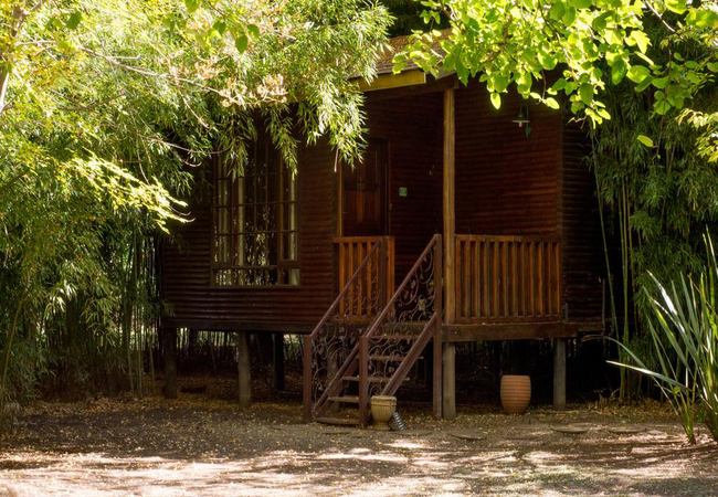 Luxury log cabin 3 river view