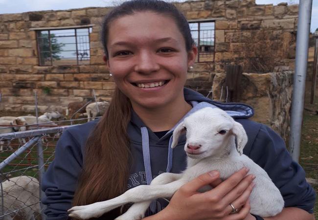 Photos with farm animals