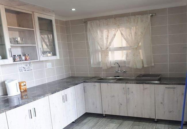 Hide away kitchen
