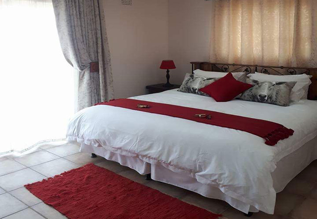 Hide away main bedroom