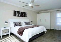 Bedroom en-suite and desk