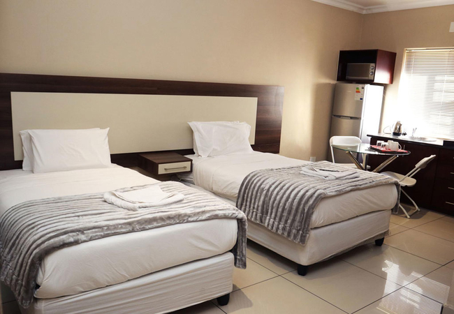 Twin Rooms - Self Catering