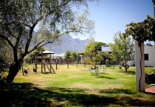 Playground at Eikelaan Farm Cottages