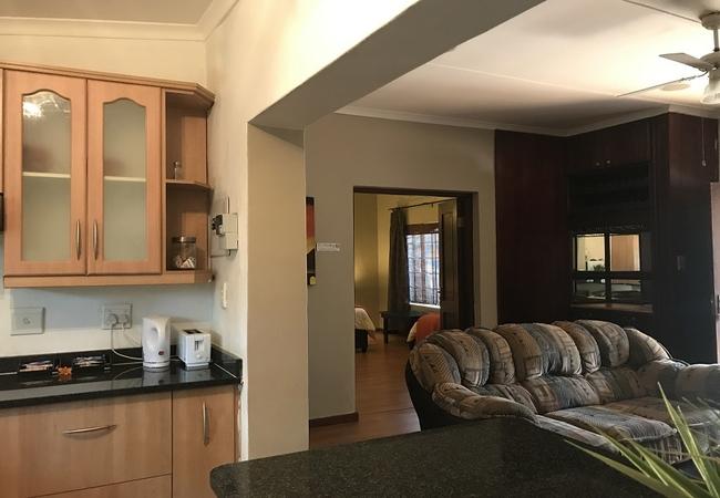 Cottage 1 - Living Area