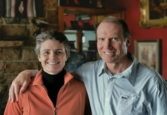 Hosts - Helen and Richard