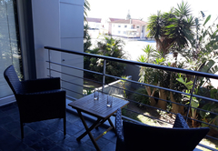 Balcony with braai facilities
