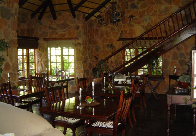 The lodge dining room