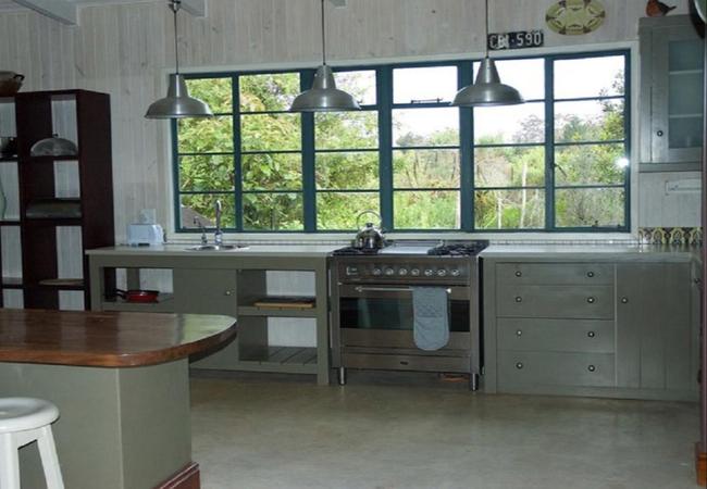 Forest View kitchen