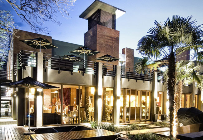 Fusion boutique hotel in polokwane limpopo for Five star boutique
