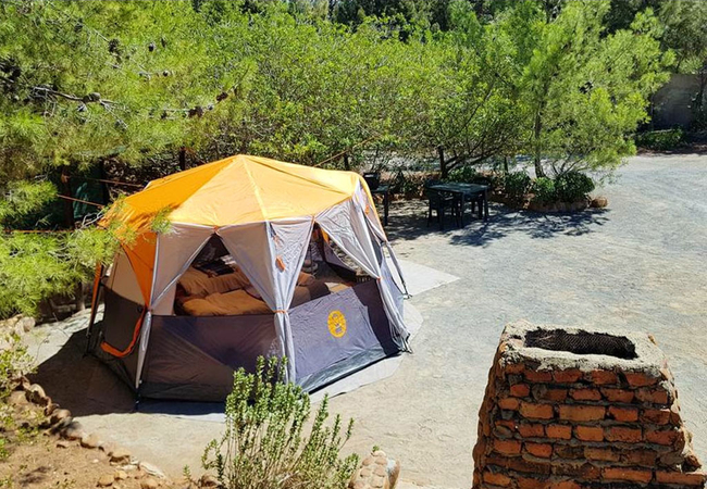 Glamping Furnished Tent