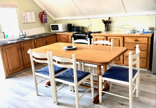 Inside dining area of Gateside