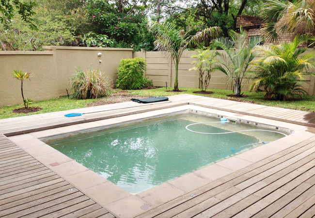 Pool for Gecko Cottage