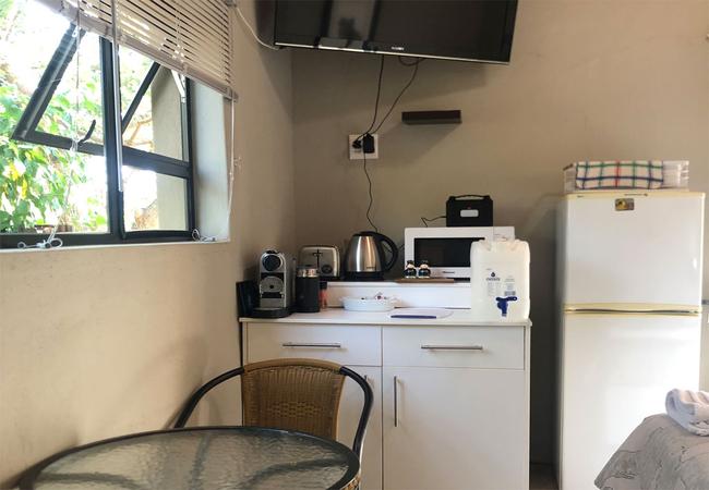 Entrance to Gecko Cottage